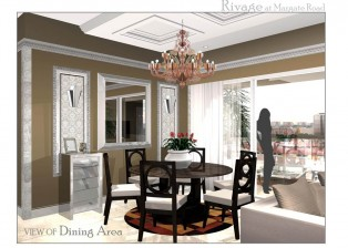 Condo Interior Design Singapore Rivage 2