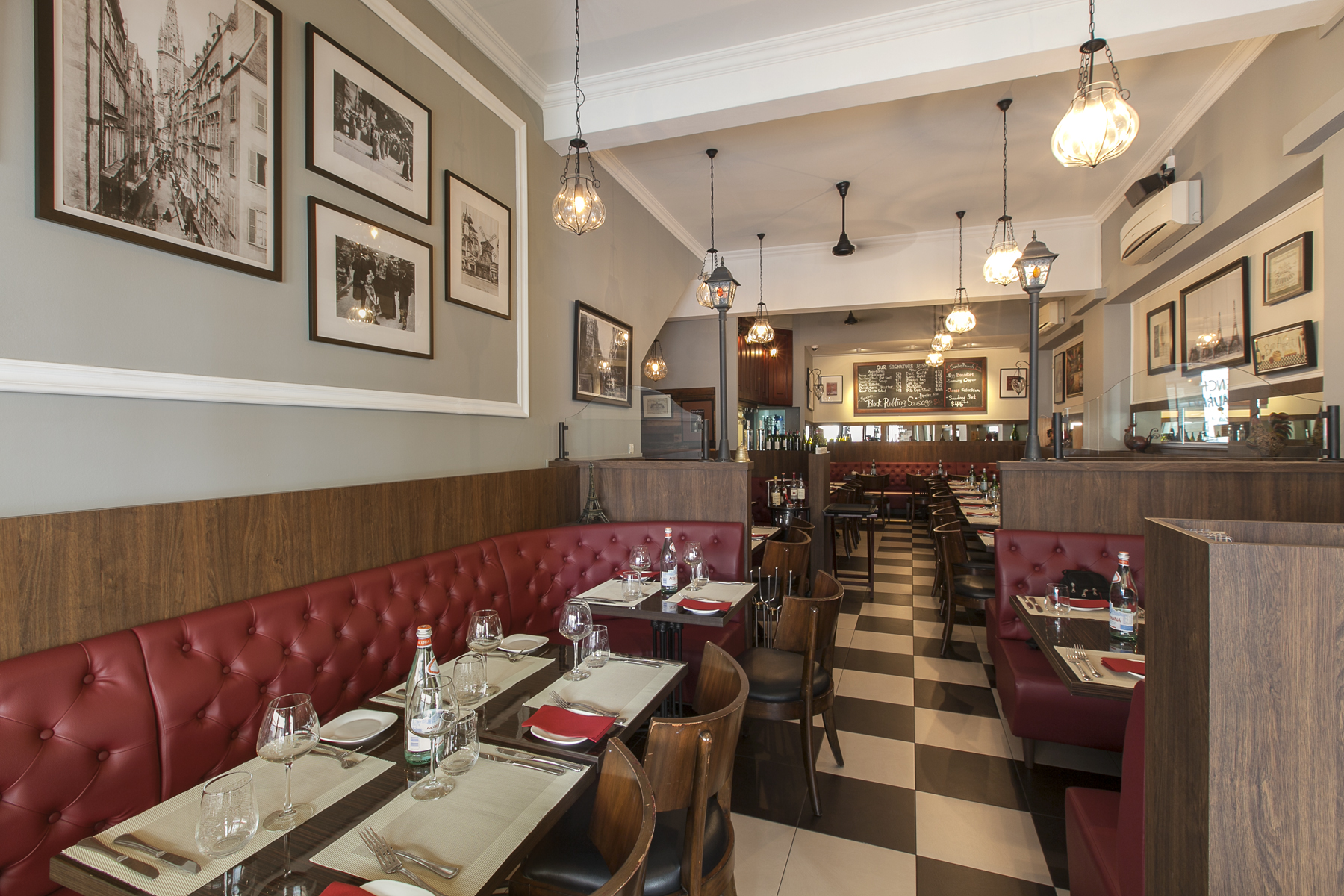 commercial interiors french bistro remodelled igx