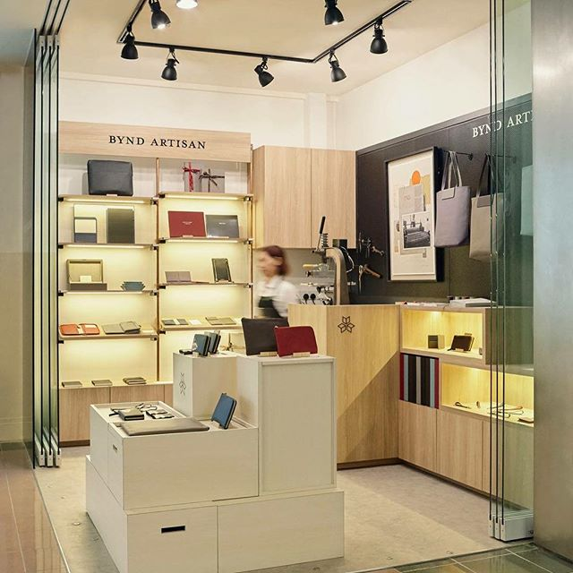 Bynd Artisan - Takashimaya B1 shop, was completed in 2017. The 4th retail shop, managed by IGX Design Studio (Design, Built and Project Management)