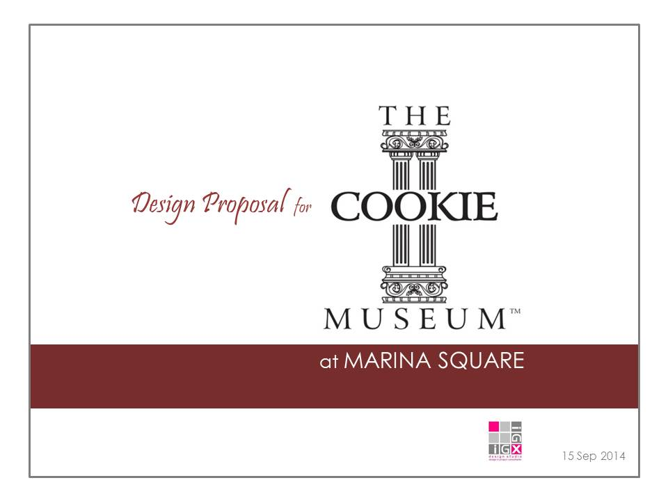 Design Proposal for Cookie Museum